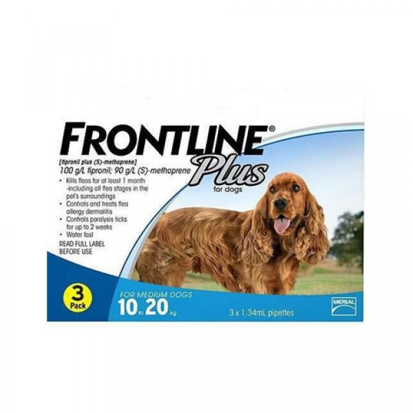 Frontline Plus TS 0-10 kg 3 pip