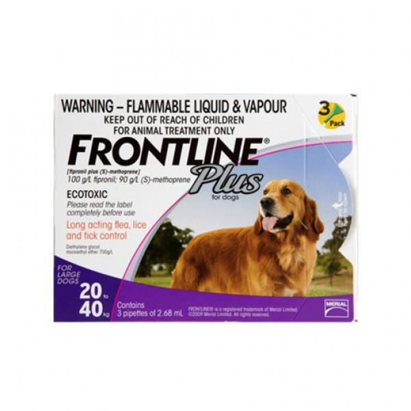 Frontline Plus TS 20-40 kg 3 pip