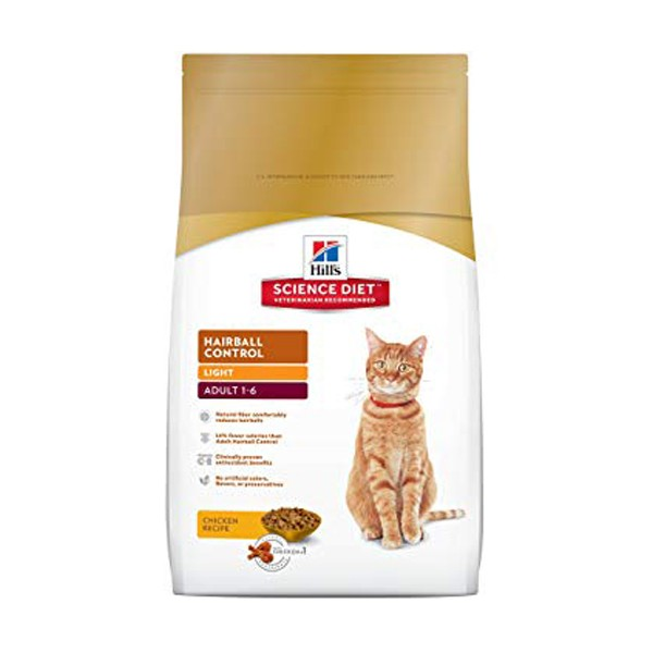 Feline Adult Light HBC 3.5 lbs