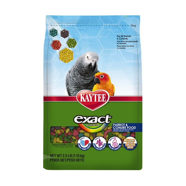 Kaytee Exact Rainbow Parrot and Conure 2.5 lbs