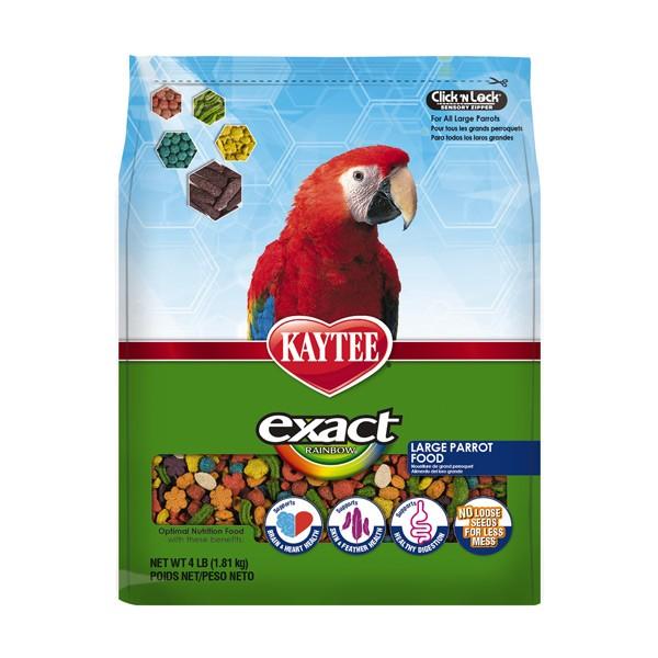 Kaytee Exact Rainbow Large Parrot 4 lbs