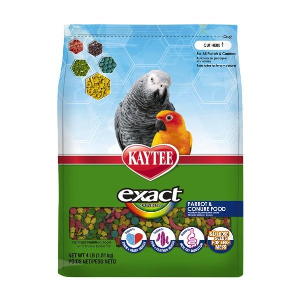 Kaytee Exact Rainbow Parrot and Conure 4 lbs