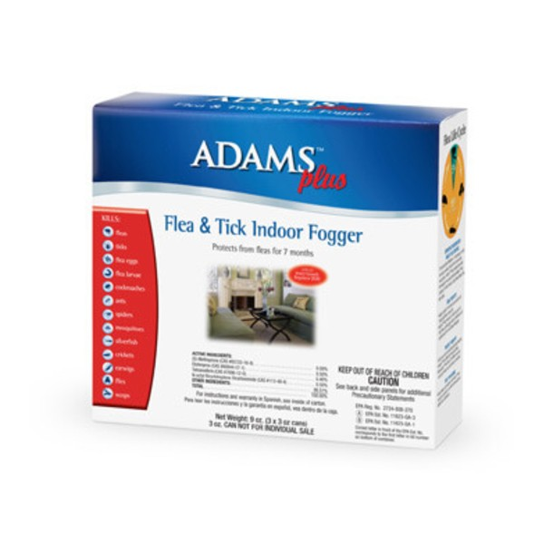 Adams™ Plus Flea & Tick Indoor Fogger