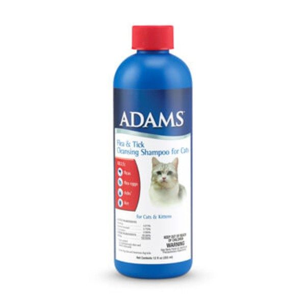 Adams™ Flea & Tick Cleansing Shampoo for Cats